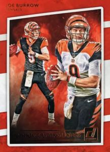 Joe Burrow rookie card