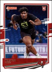 Tristan Wirfs rookie card